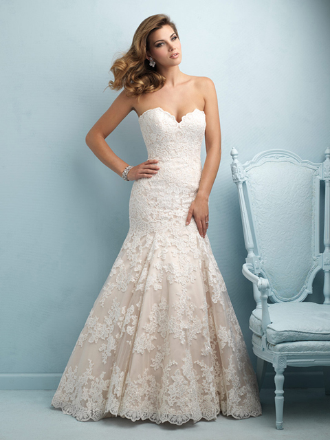Allure Bridals Wedding Dress 9215