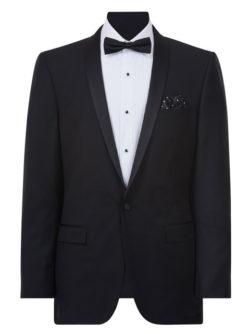 Mens Formalwear Black Suit