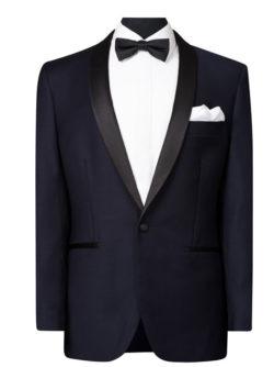 Mens Formalwear Navy Suit
