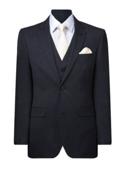 Two Button Single Breasted Mens Suit Jacket