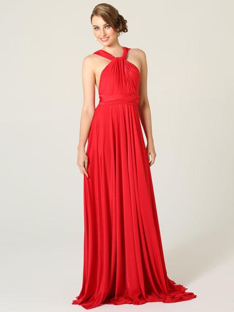 Po31 Tania Olsen Multi Wear Wrap Bridesmaid Dress