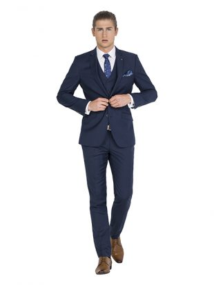 IJK044 Navy Suit