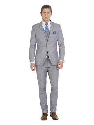 IJK043 Grey Suit Jacket