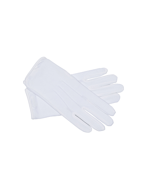Men's White Formal Gloves