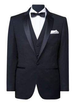 Mens Tailored Fit Pure Wool Suit Jacket
