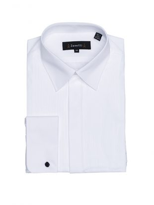 Mens Cotton White Shirt