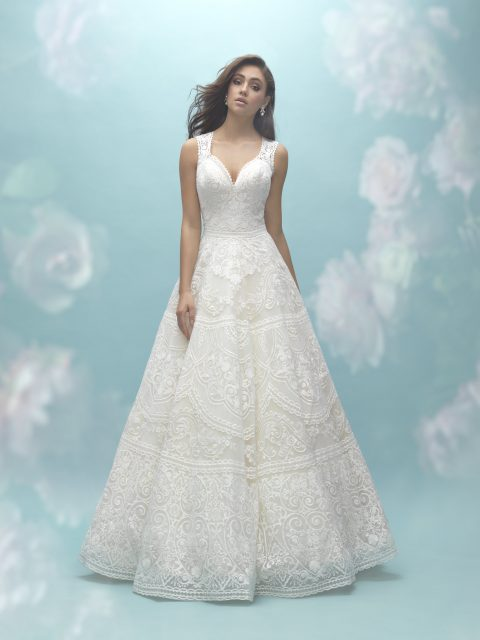 Textured lace allure 9457