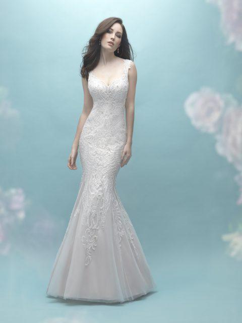 Classic sheath gown allure 9463