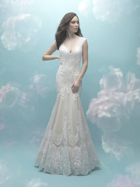 a-line gown allure 9468
