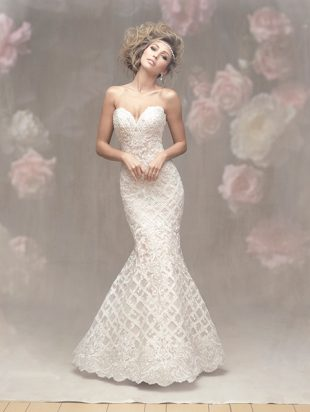 crosshatched embroidery allure couture c453