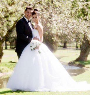 ferrari bridal real weddings allure romance