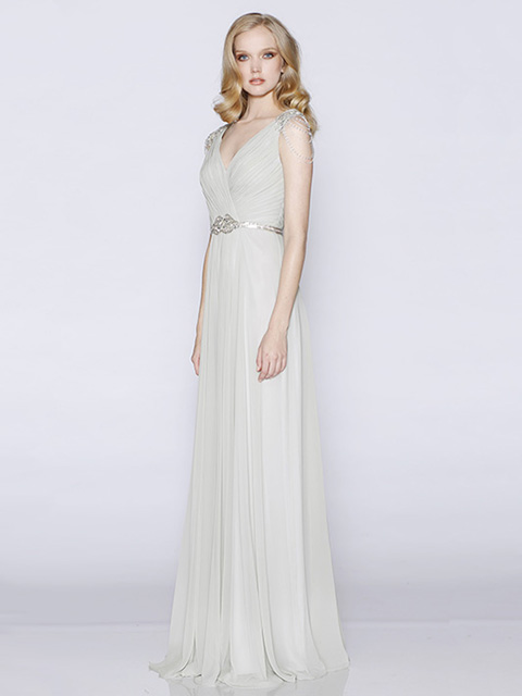 LD1062 Les Demoiselles Bridesmaid Dress Grey
