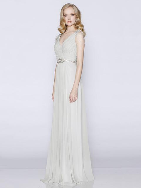 LD1062 Les Demoiselles Bridesmaid Dress Grey
