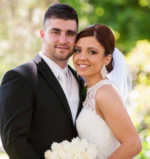 traditional church real wedding greek orthodox ferrari formalwear & bridal