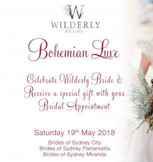 Bohemian Luxe Brides of Sydney Event