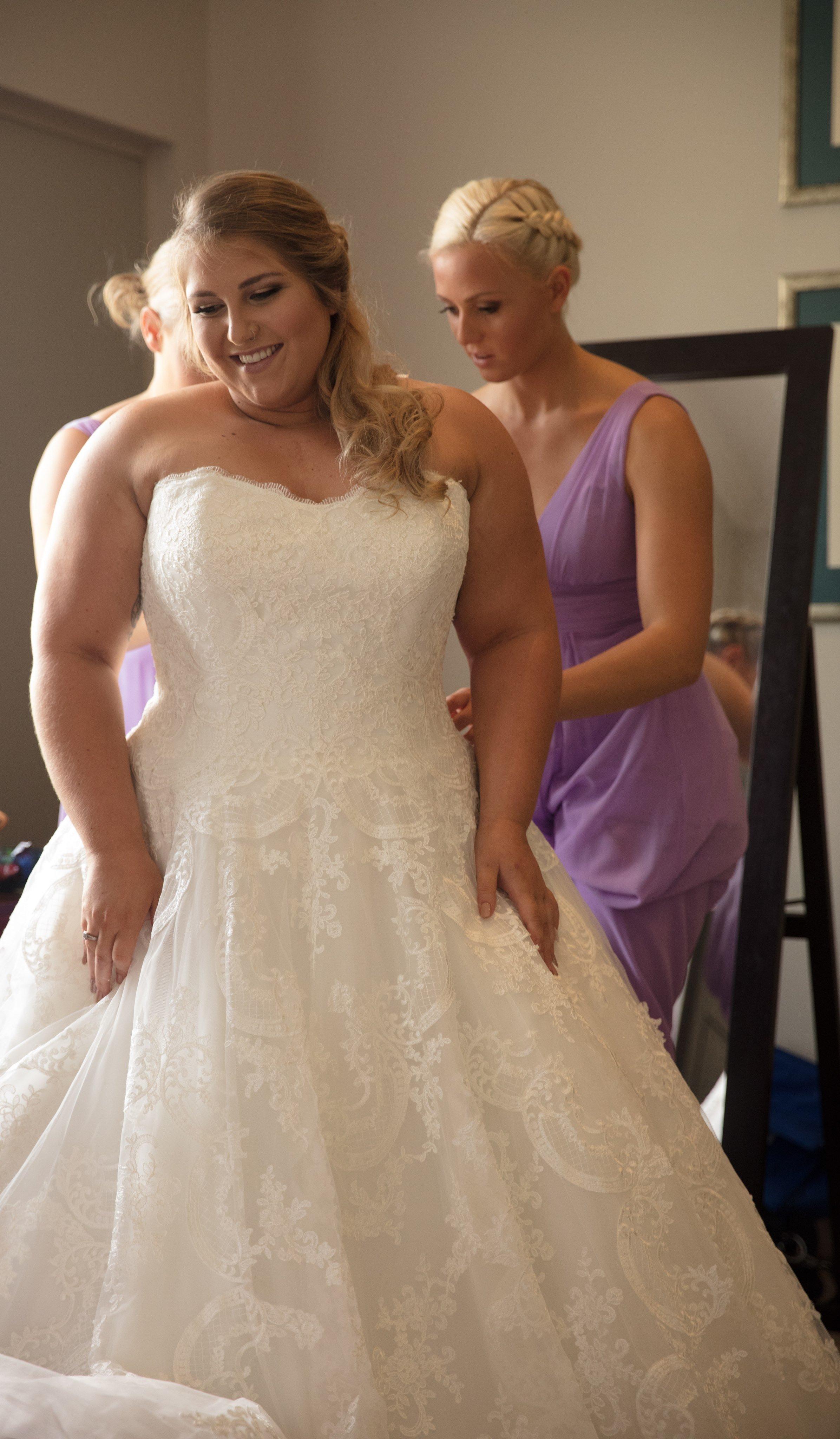 9f505828bfb7 ferrari formalwear & bridal real weddings garden wedding