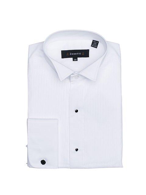 DHS001 White Formal Shirt