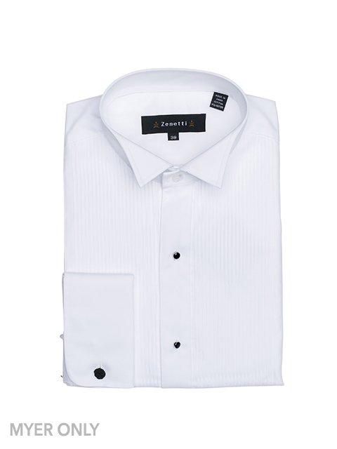 DSH001 White Formal Shirt