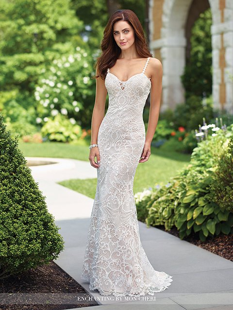 117179 Mon Cheri Enchanting Wedding Dress
