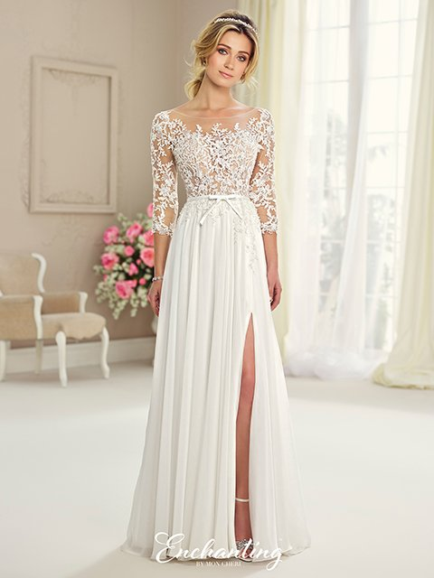 217108 Mon Cheri Enchanting Wedding Dress