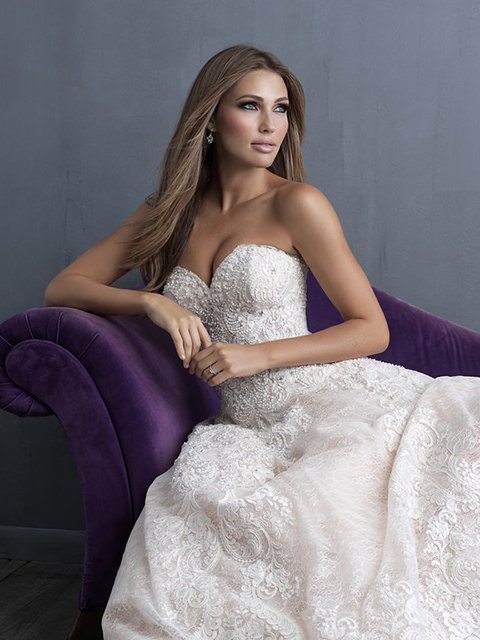 C481 Allure Couture Bridal Gown