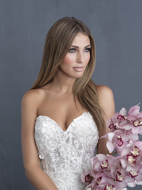 C487 Allure Couture Bridal Gown