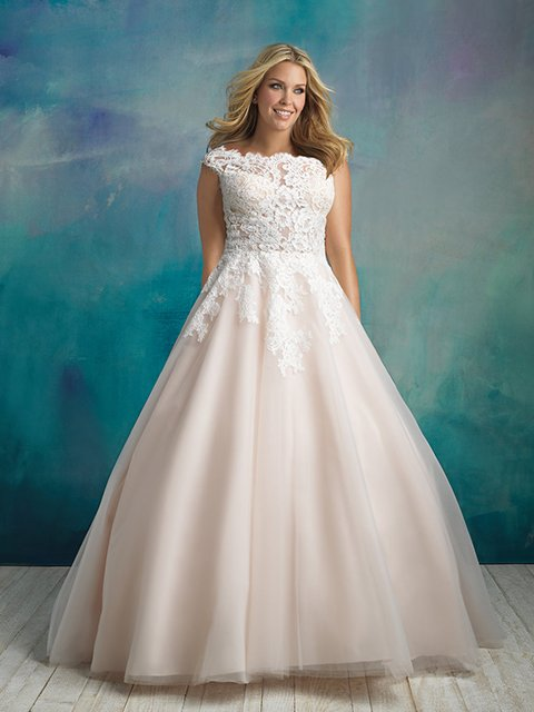 W419 Allure Women Wedding Dress