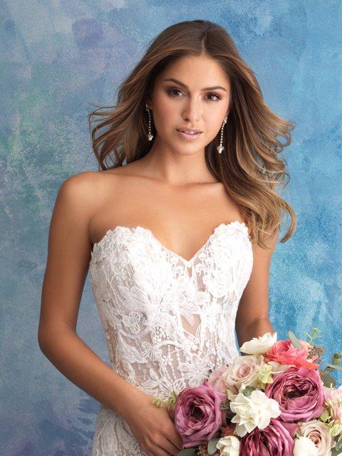 9550 Allure Bridals Wedding Dress
