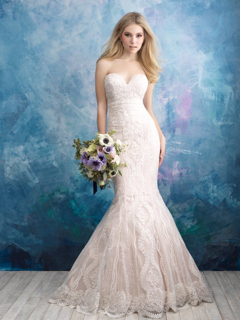 9574 Allure Bridals Wedding Dress