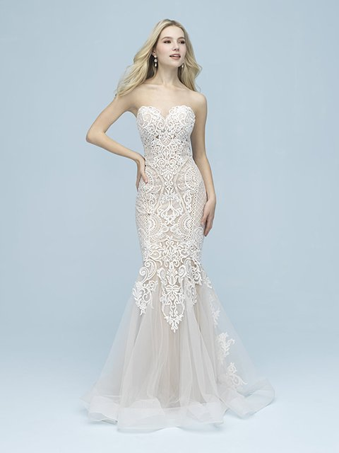 9612F Allure Bridal Wedding Gown