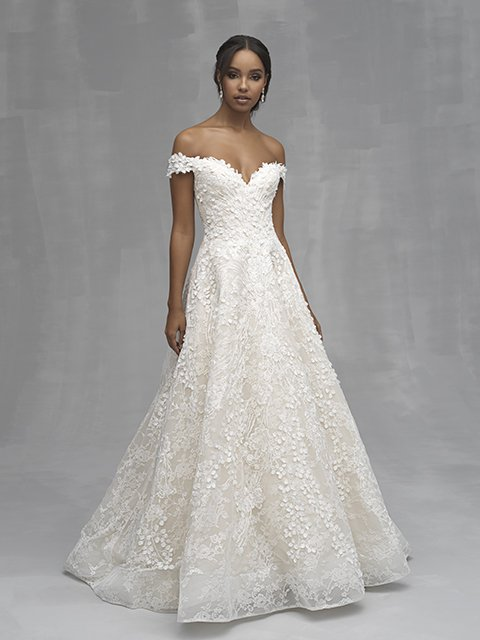 C520 Allure Couture Bridal Gown