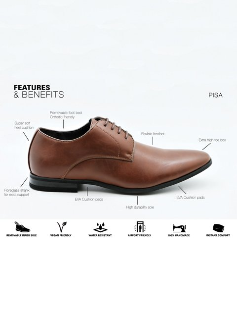 Massa Pisa Tan Shoe