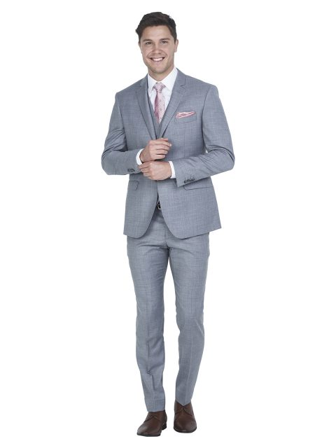 ZJK046 Grey Suit Jacket
