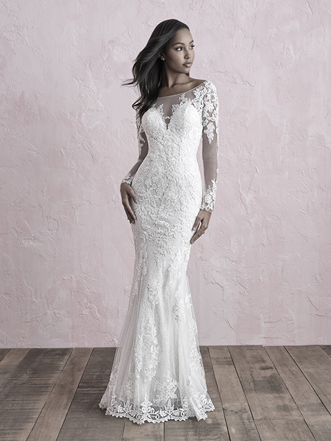 3253 Allure Romance Sheath Bridal Gown