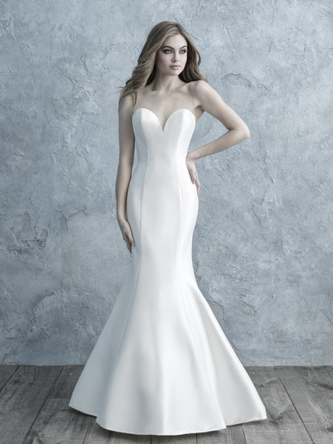9653 Allure Bridals Minimalist Wedding Dress