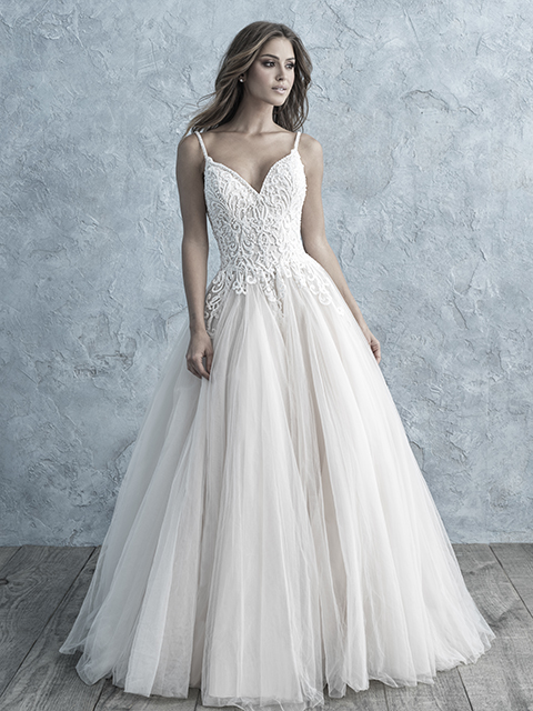 9667 Allure Bridals Tulle Wedding Dress
