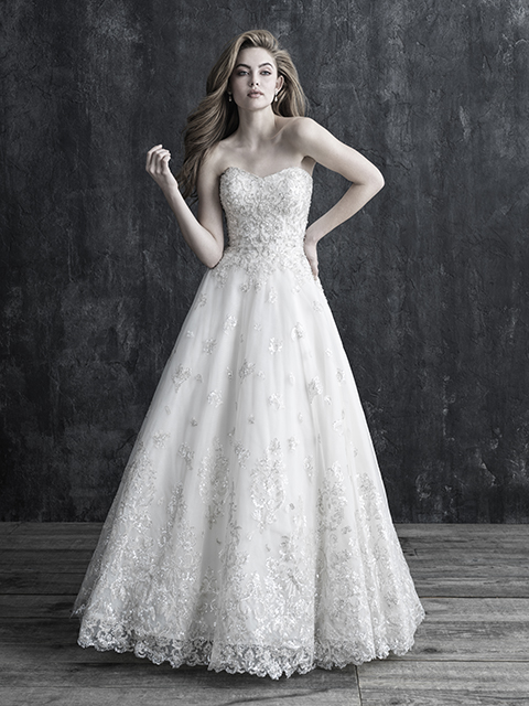 C540B Allure Couture Bridal Gown
