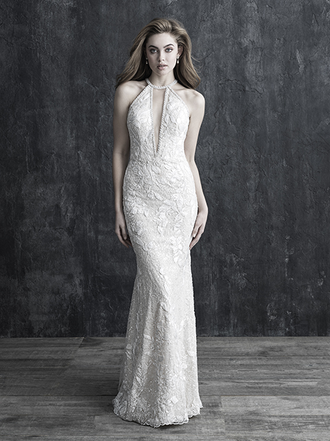 C543 Allure Couture Beaded Bridal Gown