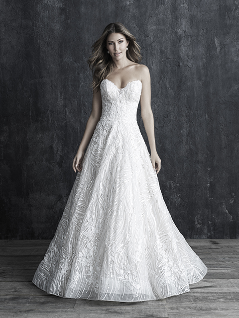 C546 Allure Couture Lace Bridal Gown