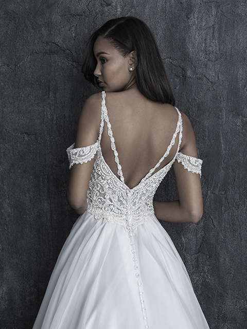C547 Allure Couture Dainty Bridal Gown