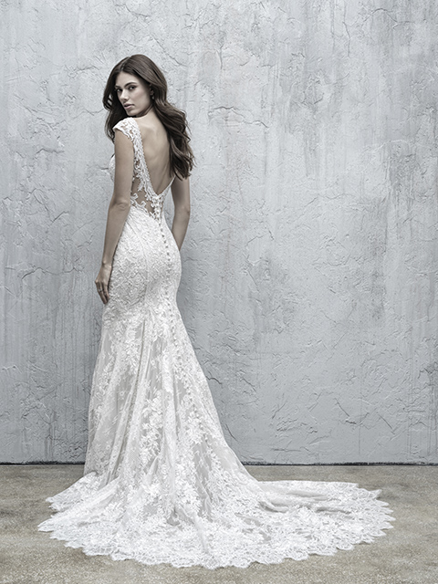 MJ551 Madison James Lace Bridal Gown