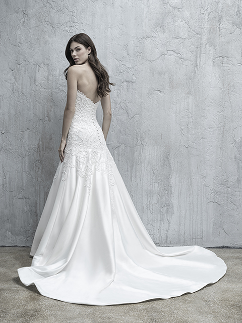 MJ553 Madison James Lace Bridal Gown