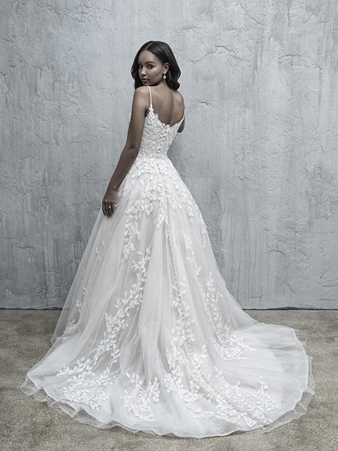 MJ555 Madison James Tulle Bridal Gown