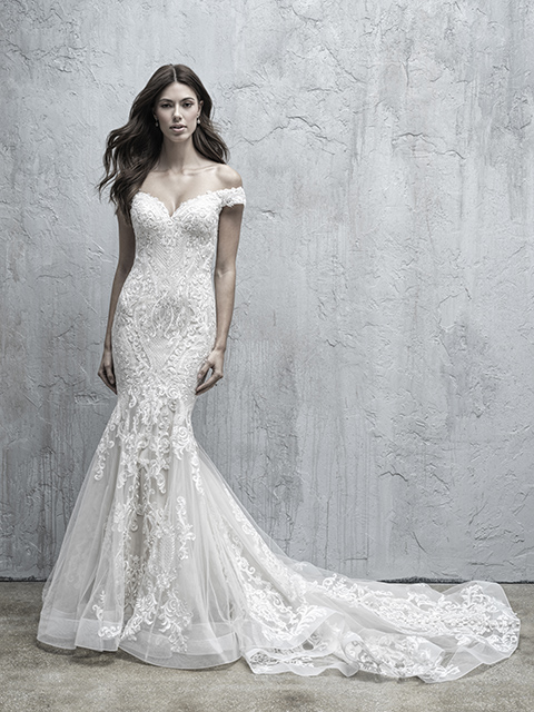 MJ557 Madison James Lace Bridal Gown
