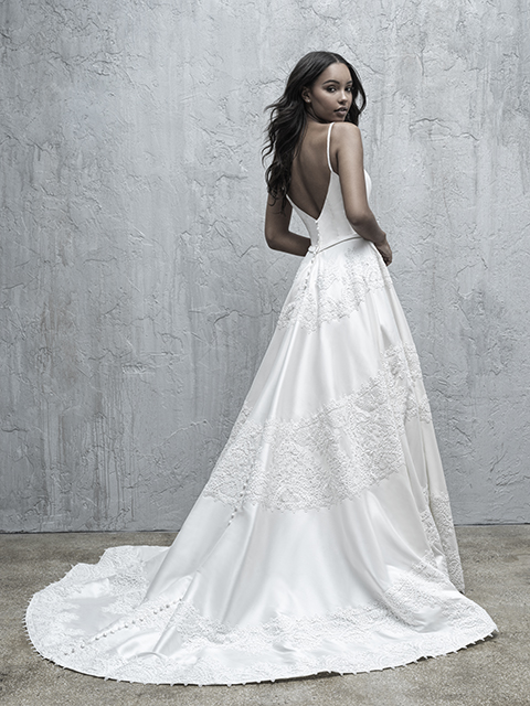 MJ573 Madison James Lace Bridal Gown