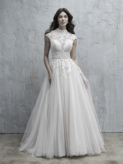MJ574 Madison James Lace Bridal Gown,