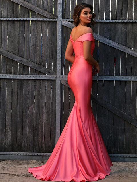 JX3020 Jadore Watermelon Special Occassion Gown
