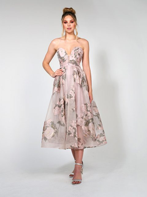 TA819 Tina Holly Evening Gown
