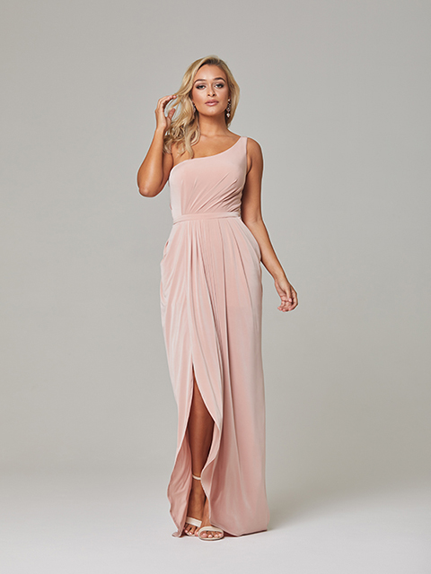 TO800 Eloise Tania Olsen Blush Bridesmaid Gown